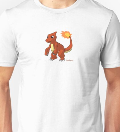 Red Charmeleon pokemon Unisex T-Shirt