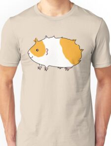 Rough Haired Two Tone Guinea-pig Unisex T-Shirt