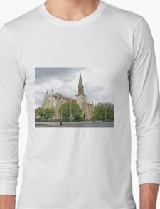 Storm over St Andrews Long Sleeve T-Shirt