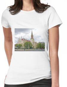 Storm over St Andrews Womens Fitted T-Shirt