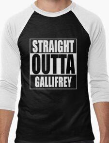 Straight OUTTA Gallifrey - Dr. Who Men's Baseball ¾ T-Shirt