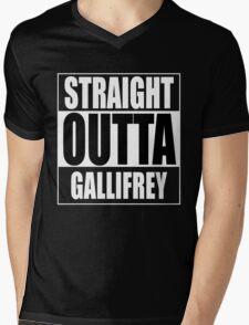 Straight OUTTA Gallifrey - Dr. Who Mens V-Neck T-Shirt