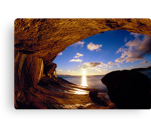 Wave Rock Canvas Print