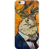Wall Street Jackalope iPhone Case/Skin