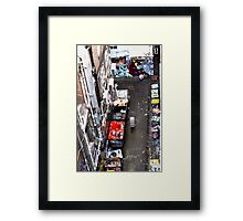 No bull!! Framed Print