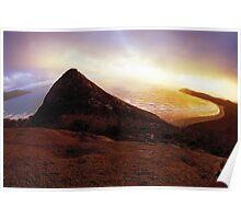 Little Oberon Sunset Poster