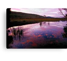 Dusk - Freshwater Lake Canvas Print