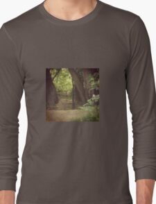 Playing Peekaboo with a New Friend Long Sleeve T-Shirt