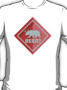 Beer CrossingDeer Bear T-Shirt