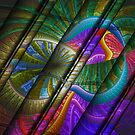 Abstract Levels Of Color by Deborah  Benoit