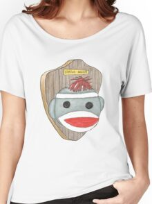 Sock Monkey Trophy Women's Relaxed Fit T-Shirt