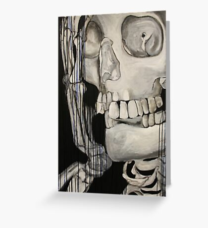 Skeleton Greeting Card