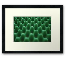 Foam Home Framed Print
