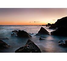 broadsands rocks 2 Photographic Print