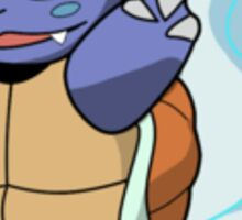 Blue Water Pokemon Wartortle Sticker