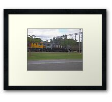 They are Selling Our Trains Framed Print