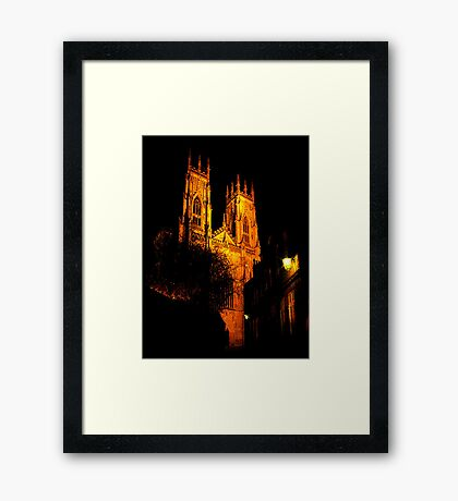 York Minster #1 Framed Print