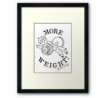 Giles Corey: Gym Bro Framed Print
