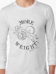 Giles Corey: Gym Bro Long Sleeve T-Shirt