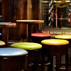 bar stools by Karen E Camilleri