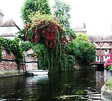 Along the Stour River, Canterbury, Kent, UK by Deb Gibbons