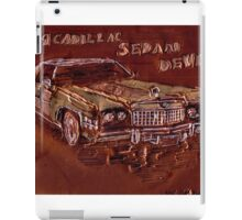 1974 CADILLAC SEDAN DeVille CAR iPad Case/Skin