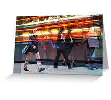 Times Square 5 Greeting Card