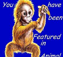 Animal Portraits banner challenge by Margaret Sanderson