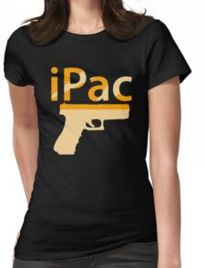 I Pac Pistol Womens Fitted T-Shirt