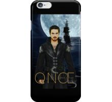 "Captain Hook Comic Poster ""Moonlight"" iPhone Case/Skin"