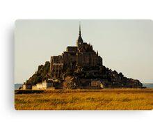 Mont Saint Michel, France (The Marvel) Canvas Print
