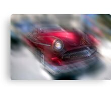 California Classic - Ruby Red Rod Canvas Print