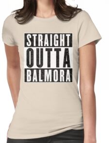 Adventurer with Attitude: Balmora Womens Fitted T-Shirt