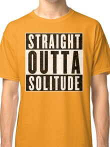 Adventurer with Attitude: Solitude Classic T-Shirt