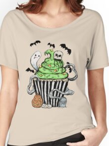 Gothic Cupcake  Women's Relaxed Fit T-Shirt