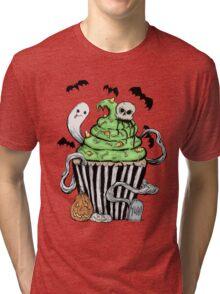 Gothic Cupcake  Tri-blend T-Shirt