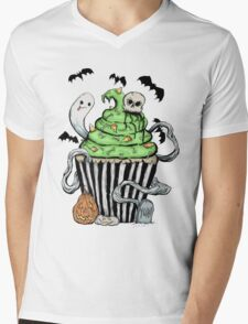 Gothic Cupcake  Mens V-Neck T-Shirt