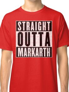 Adventurer with Attitude: Markarth Classic T-Shirt