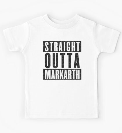 Adventurer with Attitude: Markarth Kids Tee