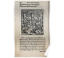 Contemplation Life and Passion Our Lord Jesus Christ Albrecht Durer 1557 0080 Poster