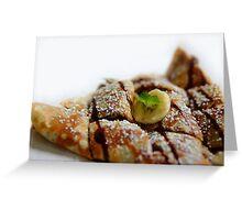 Banana Crepe Greeting Card