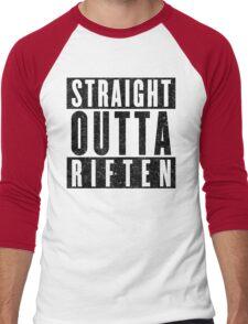 Adventurer with Attitude: Riften Men's Baseball ¾ T-Shirt