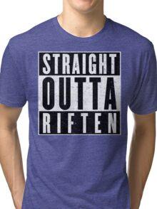 Adventurer with Attitude: Riften Tri-blend T-Shirt
