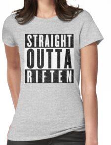 Adventurer with Attitude: Riften Womens Fitted T-Shirt