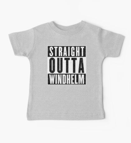 Adventurer with Attitude: Windhelm Baby Tee