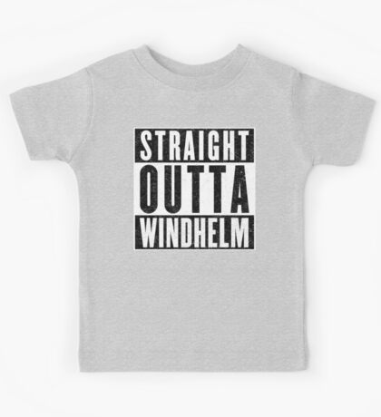 Adventurer with Attitude: Windhelm Kids Tee