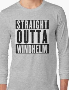 Adventurer with Attitude: Windhelm T-Shirt