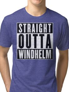 Adventurer with Attitude: Windhelm Tri-blend T-Shirt