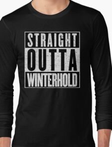 Adventurer with Attitude: Winterhold Long Sleeve T-Shirt