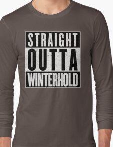 Adventurer with Attitude: Winterhold Long Sleeve T-Shirt